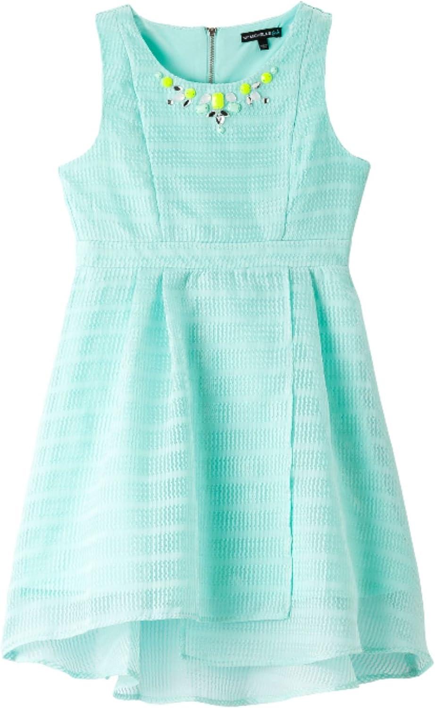 My Michelle Big Girls' Embellished Sleeveless Dress, Mint