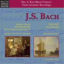 Notebook for Anna Magdalena Bach: Minuet in B-Flat Major, BWV 118