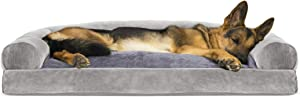 Furhaven Pet - Sofa-Style Dog Pillow Bed & Traditional Orthopedic Foam Mattress Dog Bed for Dogs & Cats - Multiple Styles, Sizes, & Colors