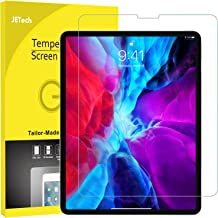 JETech Screen Protector for iPad Pro 12.9 Inch Edge to Edge Liquid Retina Display, Face ID Compatible, Tempered Glass Film