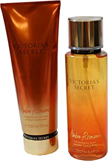 Victoria Secret Amber Romance Lotion and Mist Set