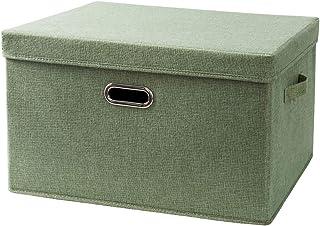 Aitaolian HOMEsn Grande Boîte De Rangement, Boîte De Rangement De Tissu, Boîte De Rangement Lavable pour Vêtements, Couett...