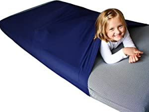 Harkla Sensory Compression Sheet for Kids (Twin) | Compression Sheets are a Great Weighted Blanket Alternative | Helps with ASD & SPD - Stay Cool & Comfortable