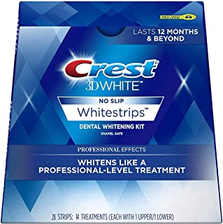 Crest 3D White No Slip Whitestrips Dental Whitening Kit - 28 Strips