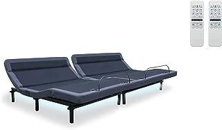 New! Leggett & Platt Adjustable Bed! The Williamsburg Plus, 4 Motors, Independent Head Tilt, Dual Massage, Head & Foot Articulation, WallHugger, USB Port, UnderBed Lighting (Split Calking)