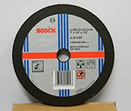 Bosch AG7 Metal 7-inch Cut Off Wheel Set (Multicolor, Pack of 5)