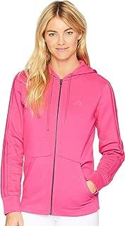 Athletics Essentials Cotton Fleece 3 Stripes Full-Zip Hoodie, Mystery