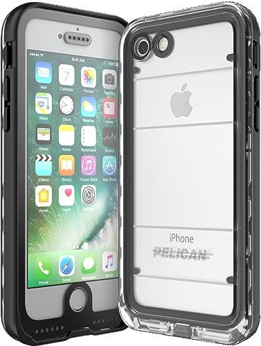 discount Pelican Marine discount Waterproof discount iPhone 7 Case (Black/Clear) outlet online sale
