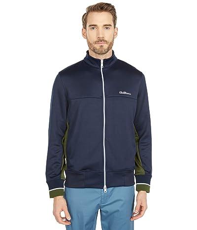 Ben Sherman Tricot Zip-Up Track Jacket (Navy Blazer) Men
