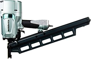 Metabo HPT Framing Nailer, Pneumatic, 2-Inch up to 3-1/4-Inch Plastic Collated Full Head Framing Nails, 21 Degree Magazine, 5-Year Warranty (NR83A5S)