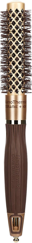 Olivia Garden Ceramic y Ion Nano Thermic Thermal Brush 18 Cepillo - 100 gr