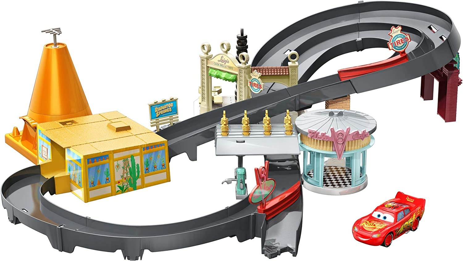 Disney Cars GGL47 - Radiator Springs Rennset