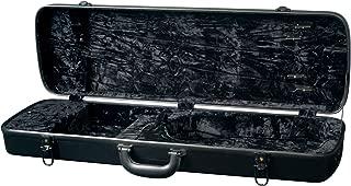 Superior CF-3760B Standard Fiberglass Rectangular Violin Case - Black
