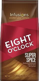 Eight O'Clock Ground Coffee, Super Spice, 10 Ounce