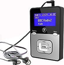Yaakin K1, persönliches digitales DAB +, DAB/FM Radio, MP3 -Player Miniradio,..