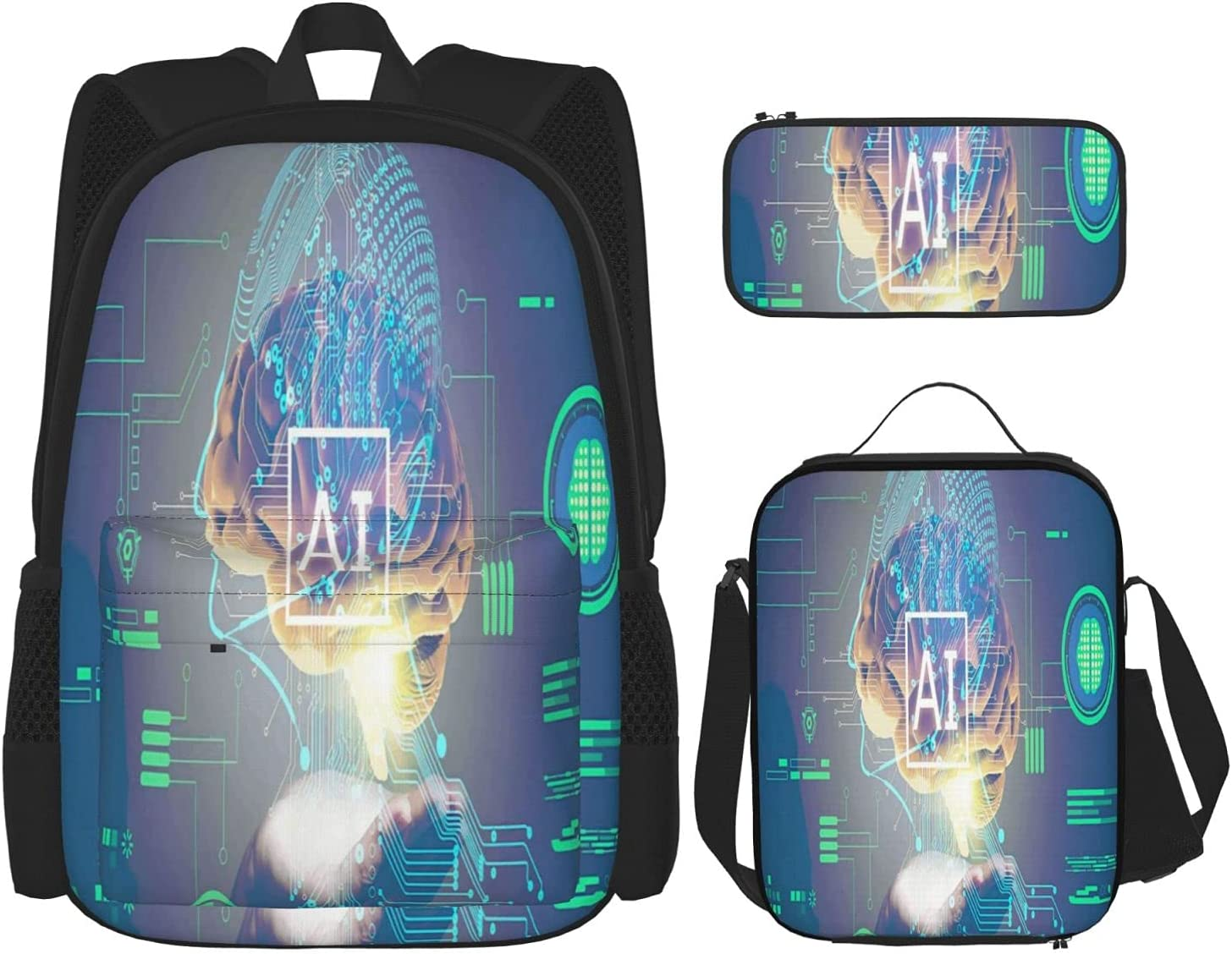 Free Shipping Cheap Bargain Gift New product!! Hello Gorgeous Backpack Artificial Intelligence L Daypack Casual