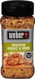 Weber Roasted Garlic & Herb Seasoning - 7.75 oz (pack of 2)