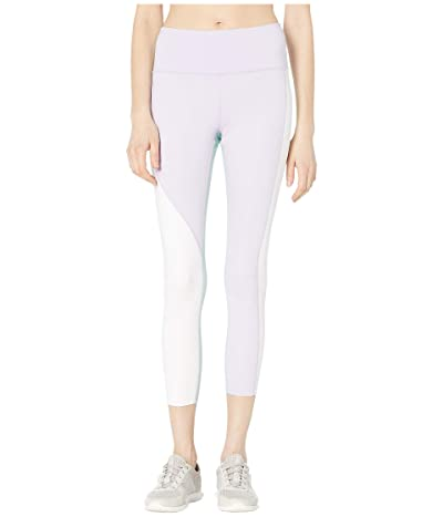 Kate Spade New York Athleisure Color Spliced Leggings (Frozen Lilac) Women
