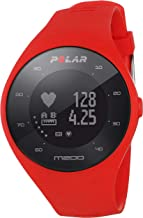 Polar M200 Fitness Tracker Sports Watch with wrist based Optical HR Monitor - red
