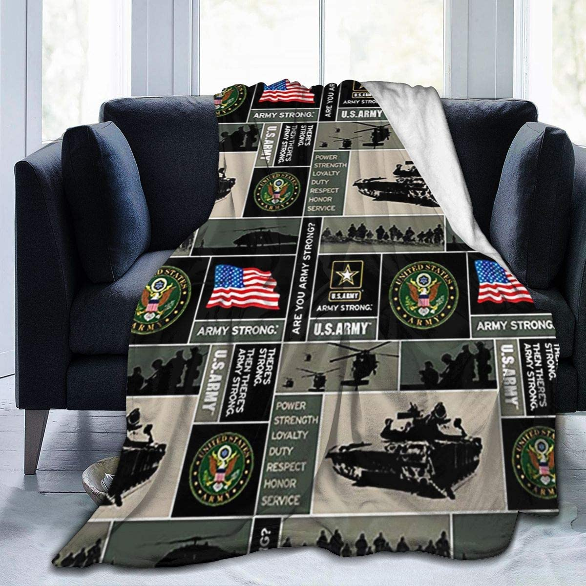 efyh Unisex United States of America 大放出セール 年末年始大決算 F Army USA Flannel Military