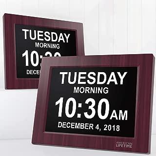 Best electronic wall calendar clock Reviews