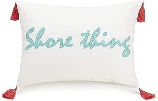Vera Bradley GO Fish Decorative Pillow, Shore Thing 12X16'', White