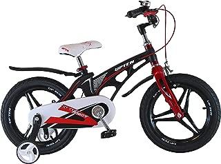 Upten Robot 12 inch Alloy children bicycle kids bike cycle (Black)