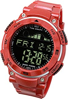 Tide Graph Watch Moon Phase Fishing Surfing Outdoor