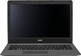 Acer 14in HD Aspire One Cloudbook (Intel Celeron Dual Core up to 2.16Ghz, 2GB RAM, 32GB eMMC, Webcam, HDMI, USB 3.0, 802.11ac WIFI, Bluetooth 4.0, 0.7in Thin, Windows 10 Home) (Renewed)