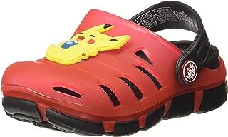 Kidsfun Pokemon Unisex Kid's KF0260K Red Fashion Sandals-7 KidsUK 24 EU (KF0260KRDRD0024)