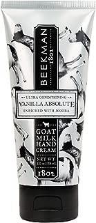 Beekman 1802 Goat Milk Hand Cream 2.0 Ounces (Vanilla Absolute)