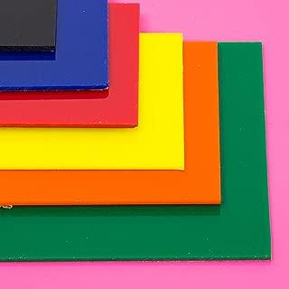 Source One LLC 1/8 th Inch Thick Acrylic Plexiglass Sheet (12