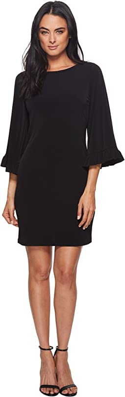 MICHAEL Michael Kors Solid Flare Sleeve Dress