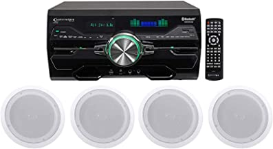 Technical Pro DV4000 4000w Home Theater DVD Receiver+(2) 8
