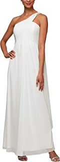 Women's Long Off The Shoulder Dress (Petite and Regular)
