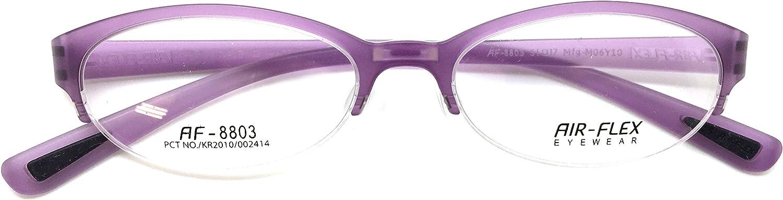 Air Flex Eye Glasses Frame Super Light, Flexible Prescription Frame AF 8803 C5