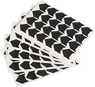 Self Adhesive Photo Corners, Naler 360 Pack Photo Mounting Corners for Scrapbook, Picture, Album, Journal, Black, 15 Sheets