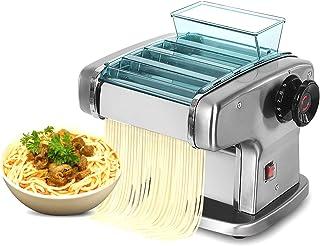 Máquina para hacer pasta 135W Eléctrica, Máquina para fideos automática, Máquina para espaguetis, Modos de 4 cuchillas, An...