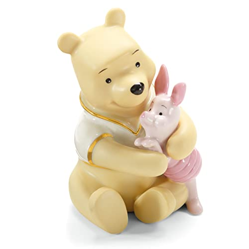 Lenox A Bear Hug for Piglet Figurine