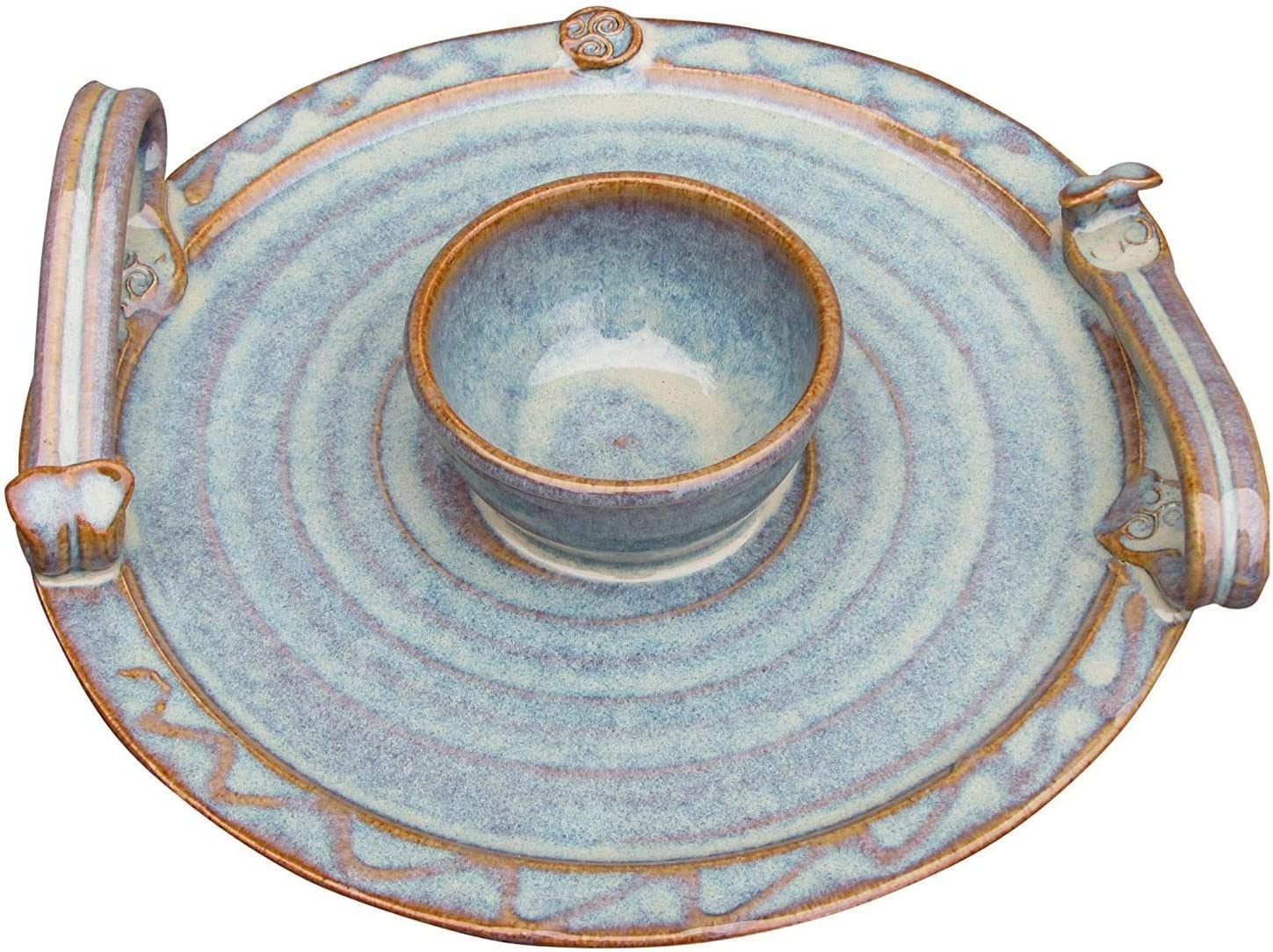 Castle Arch Ranking TOP20 Pottery All stores are sold Handmade Party Dip Bowl. with 9†Platter