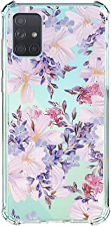 Compatible for Samsung Galaxy A51 4G Case Silicone Soft TPU Transparent Shell Slim Four-Corner Airbags All-Inclusive, Shock-Absorbing Drop-Resistant Phone Case for Samsung Galaxy A51