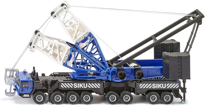 SIKU 4810, Mobilkran, 1 55, Zusammensteckbar, Metall Kunststoff, Blau, Mit Seilwinde und Gewichten B00029D13C Kaufen Sie beruhigt und glücklich spielen  | Mode-Muster
