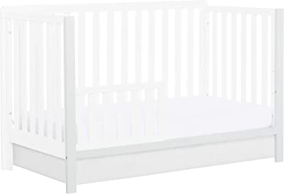 Dream On Me Ridgefield Convertible Crib Conversion Post, White