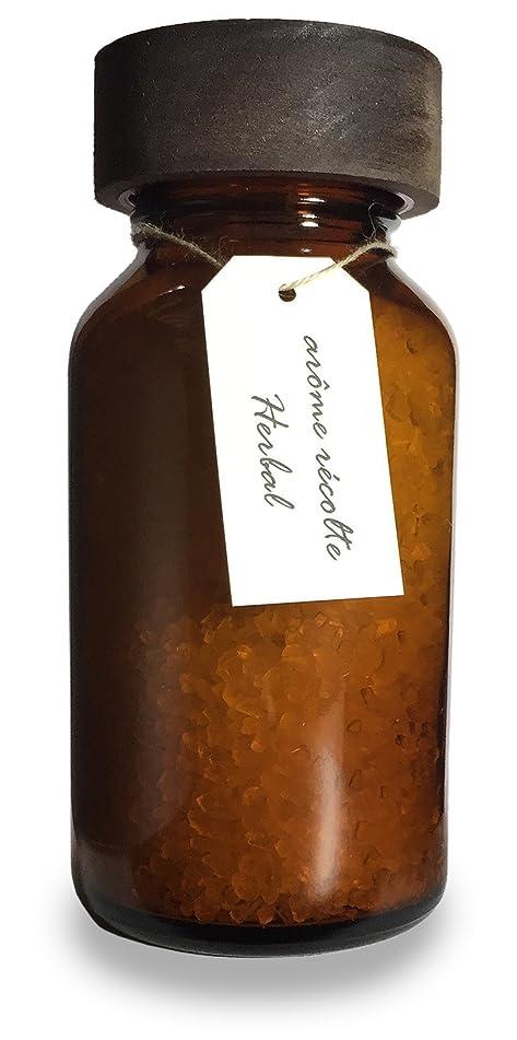 シンプルさ火炎適切なアロマレコルト ナチュラル バスソルト ハーバル【Herbal】arome recolte natural bath salt