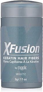 (White) - XFusion Keratin Hair Fibres Travel Size, 5ml