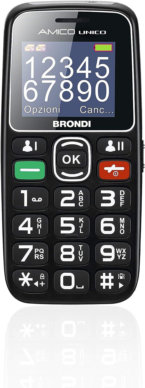 Brondi Amico Unico Gsm Handy Für Senioren Mit Großen Elektronik