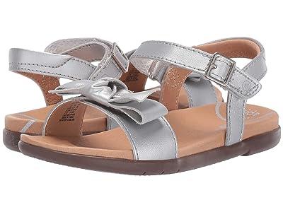 Stride Rite SRT Savannah (Little Kid) (Silver) Girls Shoes