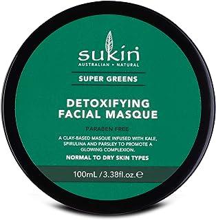 Sukin Super Greens Detoxifying Facial Masque, 100ml