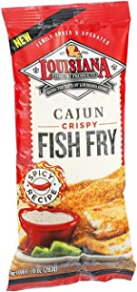 Louisiana Cajun Fish Fry Seasoning Mix, 10 Ounce - 12 per case.