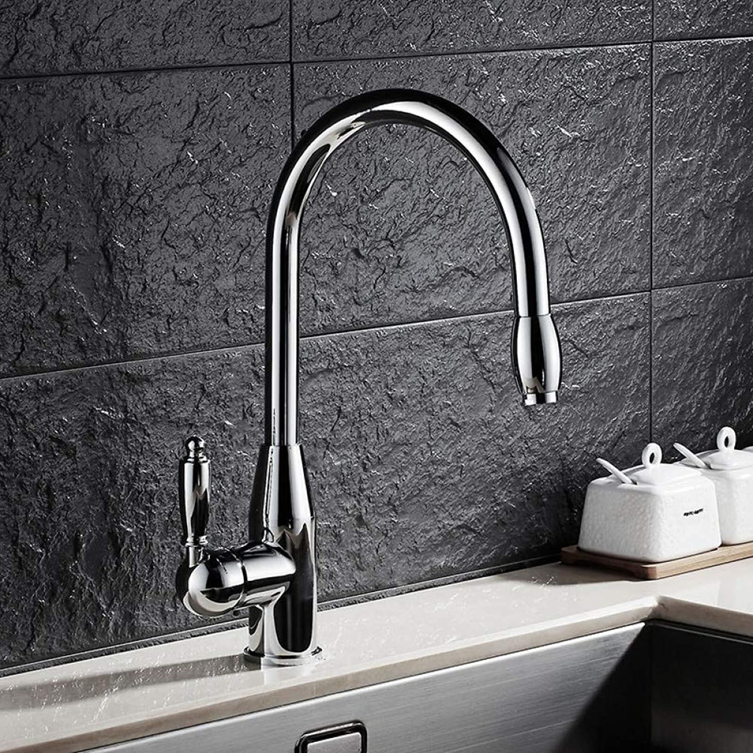 YHSGY Kitchen Taps Copper Wash Basin Faucet redating Hot and Cold Kitchen Sink Faucet